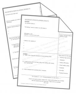 Manifestation Worksheets
