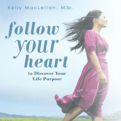 EMBRACE YOUR LIFE COACHING kelly maclellan FOLLOW YOUR HEART TO DISCOVER YOUR LIFE PURPOSE BOOK soft cover 14.95